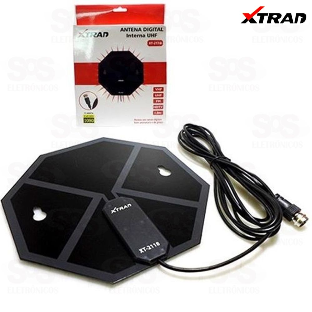 Antena Digital Interna Xtrad xt-2118