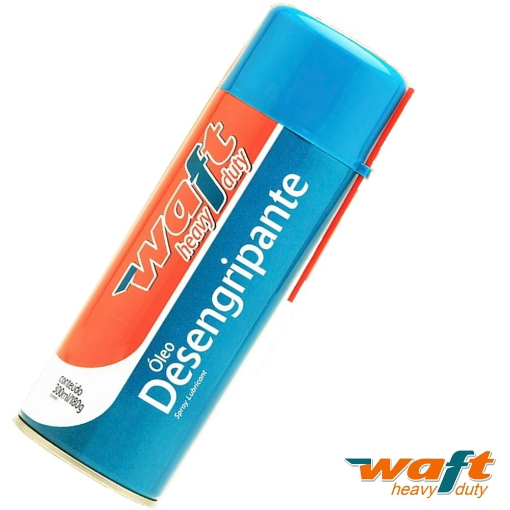 Óleo Desengripante Spray 300ml Waft 6179